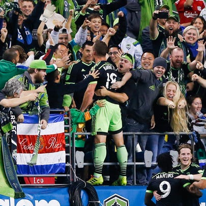 Oct 4, 2015; Seattle, WA, USA; Seattle Sounders FC