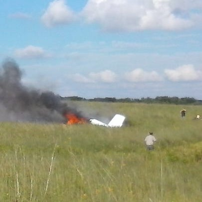 Four people were killed in a plane crash near Amery,