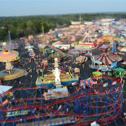 Erie County Fair midway
