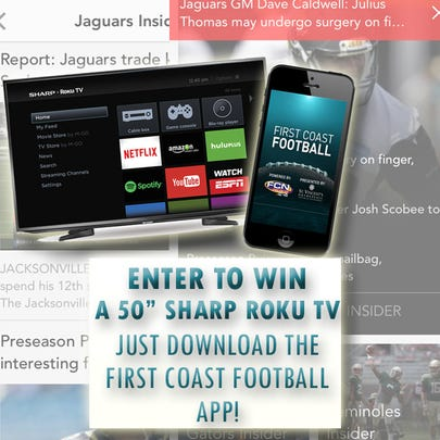 """Enter to WIN a 50"""" Sharp Roku TV by entering FCN's"""