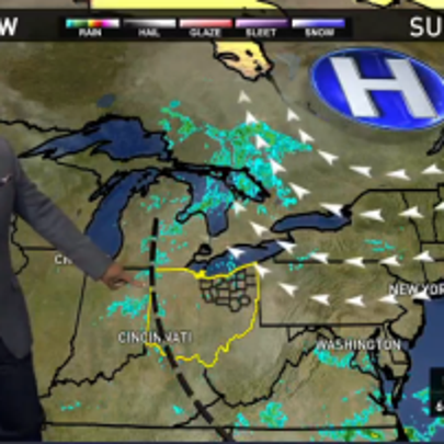 Weather forecast for October 4, 2015