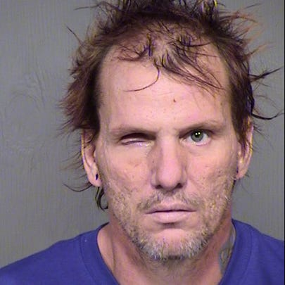 The mugshot of Kenneth Wakefield, 43, was released