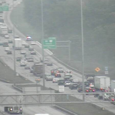 Accident near the Ohio Turnpike slows traffic on I-71