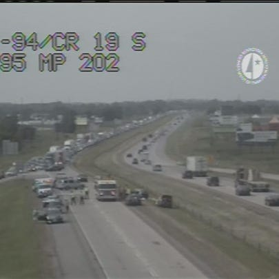 Fatal crash on I-94