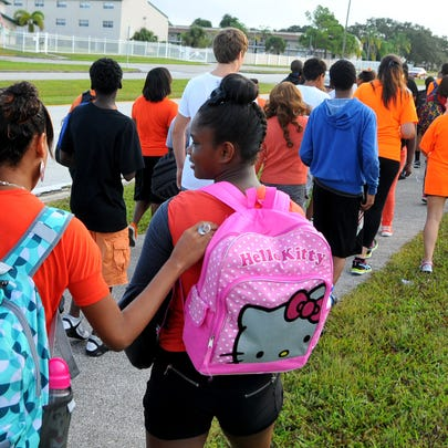 Wednesday was National Walk your Child to School Day.