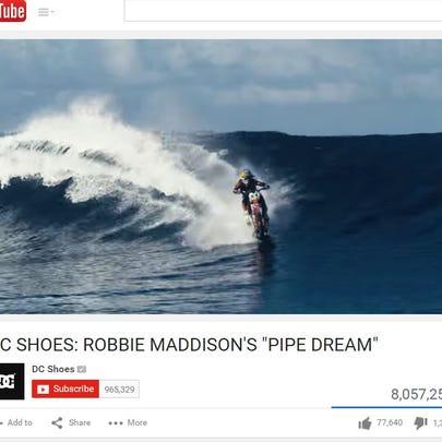 Robbie Maddison's ''Pipe Dream''