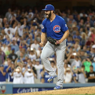 Chicago Cubs pitcher Jake Arrieta improved to 17-6