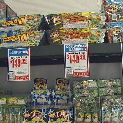 Hot, dry weather sparks fireworks concerns