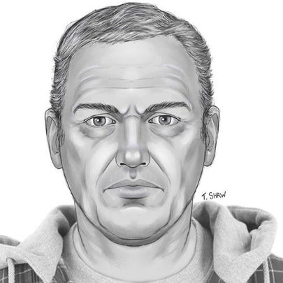 Sketch released of what victim's boyfriend would look