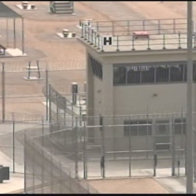The prison at Kingman, from 12 News file video.