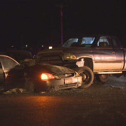 A woman has died following a 2-vehicle crash in Nampa