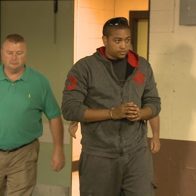 Officer Dalton Warfield, 24, is charged with two counts