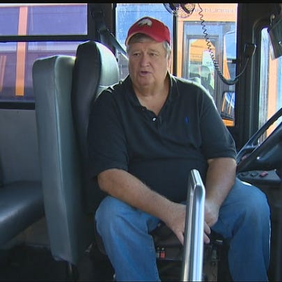 A Crosby ISD bus driver is being celebrated for protecting