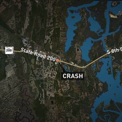 According to FHP, the crash happened about 10 p.m.