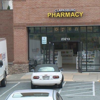 The Clarksburg Pharmacy on Stringtown Road