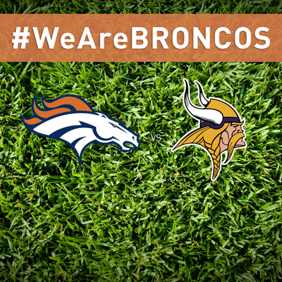 #WeAreBRONCOS fan chat with live game coverage of Denver