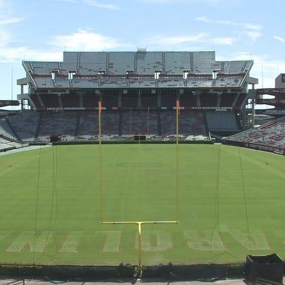 Williams Brice Stadium on the campus of the University