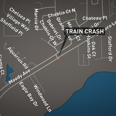 CSX train collides with vehicle in Orange Park