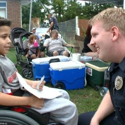 Lakewood officers visited Jeremias Moya