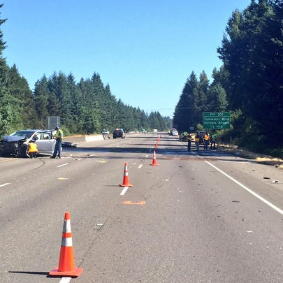 Troopers investigate a fatal collision on Interstate