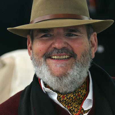 MADRID, Spain:  US chef Paul Prudhomme listens during