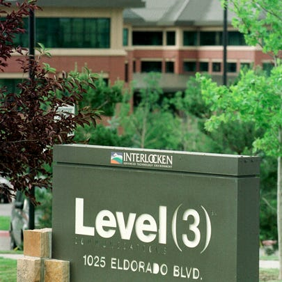 390755 03: A sign marks the entrance to the Level 3
