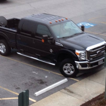 2011 Ford F-250 stolen from a gas station at Medina