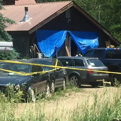 Deputies are investigating the death of a woman found
