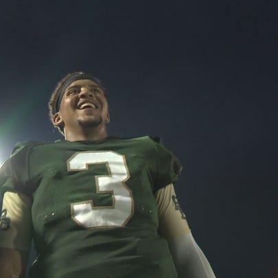 Brandon Tillmon is the first River Bluff football player