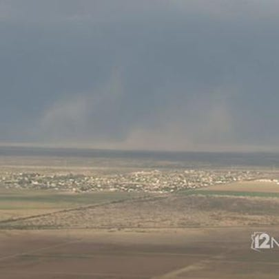 Dust is entering the Valley, July 29, 2015