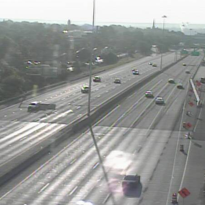 Right lane to close on I-90 East near W. 25th St due
