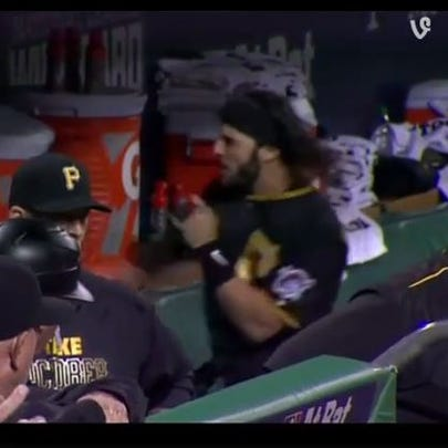 Sean Rodriguez punches cooler following skirmish on