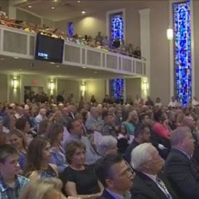 More than a thousand people gathered together Wednesday