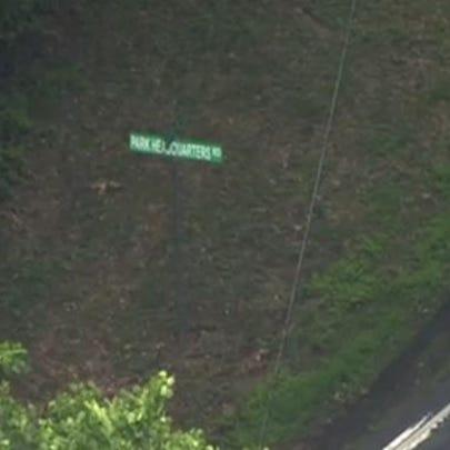 Near scene of bike crash in Prince William County