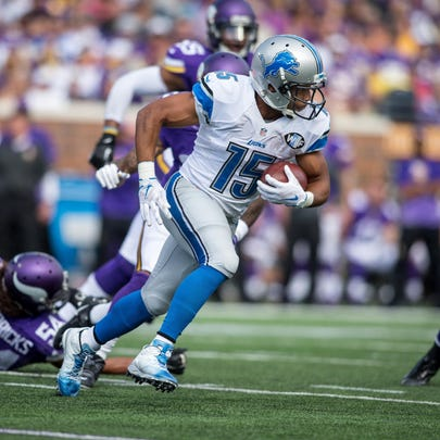 Detriot Lions wide receiver Golden Tate will play in