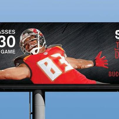 The new Tampa Bay Buccaneers marketing slogan.