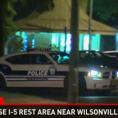 A man found at the I-5 SB Wilsonville rest stop has