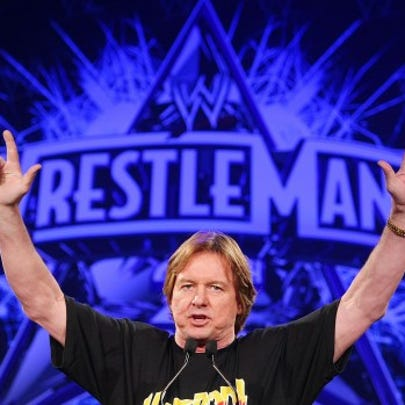 """Rowdy"" Roddy Piper attends the WrestleMania 25th anniversary"