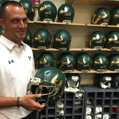 Jeremy Lees has been USF's assistant director of athletics