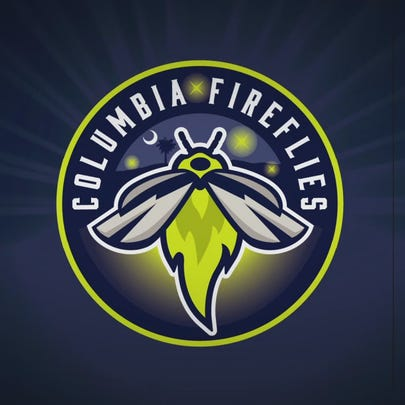 The Columbia Fireflies logo.