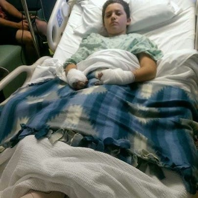 Thirteen-year-old Gregory Slaughter is recovering after