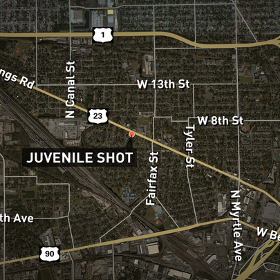 According to the Jacksonville Sheriff's Office, it