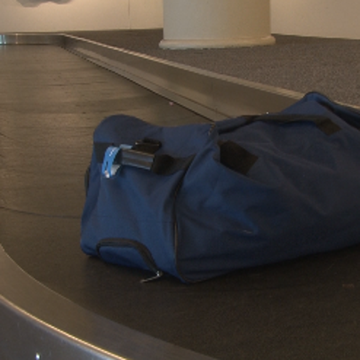 Luggage at Jacksonville International Airport