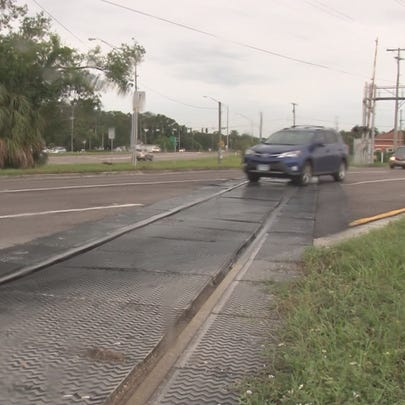 Drivers are concerned with the rail crossing where