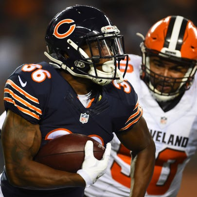 The Chicago Bears beat the Cleveland Browns in tonight's