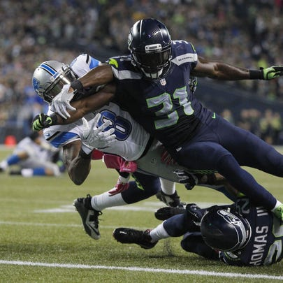 Seattle Seahawks strong safety Kam Chancellor (31)