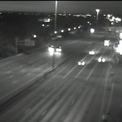 Clear drive on I-90 at Fulton Rd on Cleveland's west