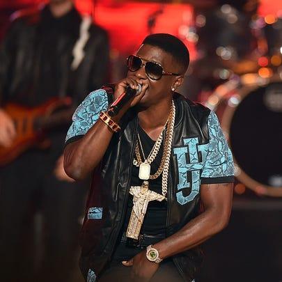 ATLANTA, GA - SEPTEMBER 20:  Rapper  Lil Boosie performs