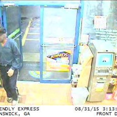 Glynn County police searching for serial armed robbery