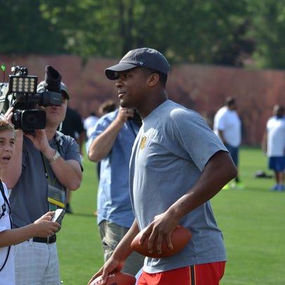 Tampa Bay quarterback Jameis Winston is grateful for